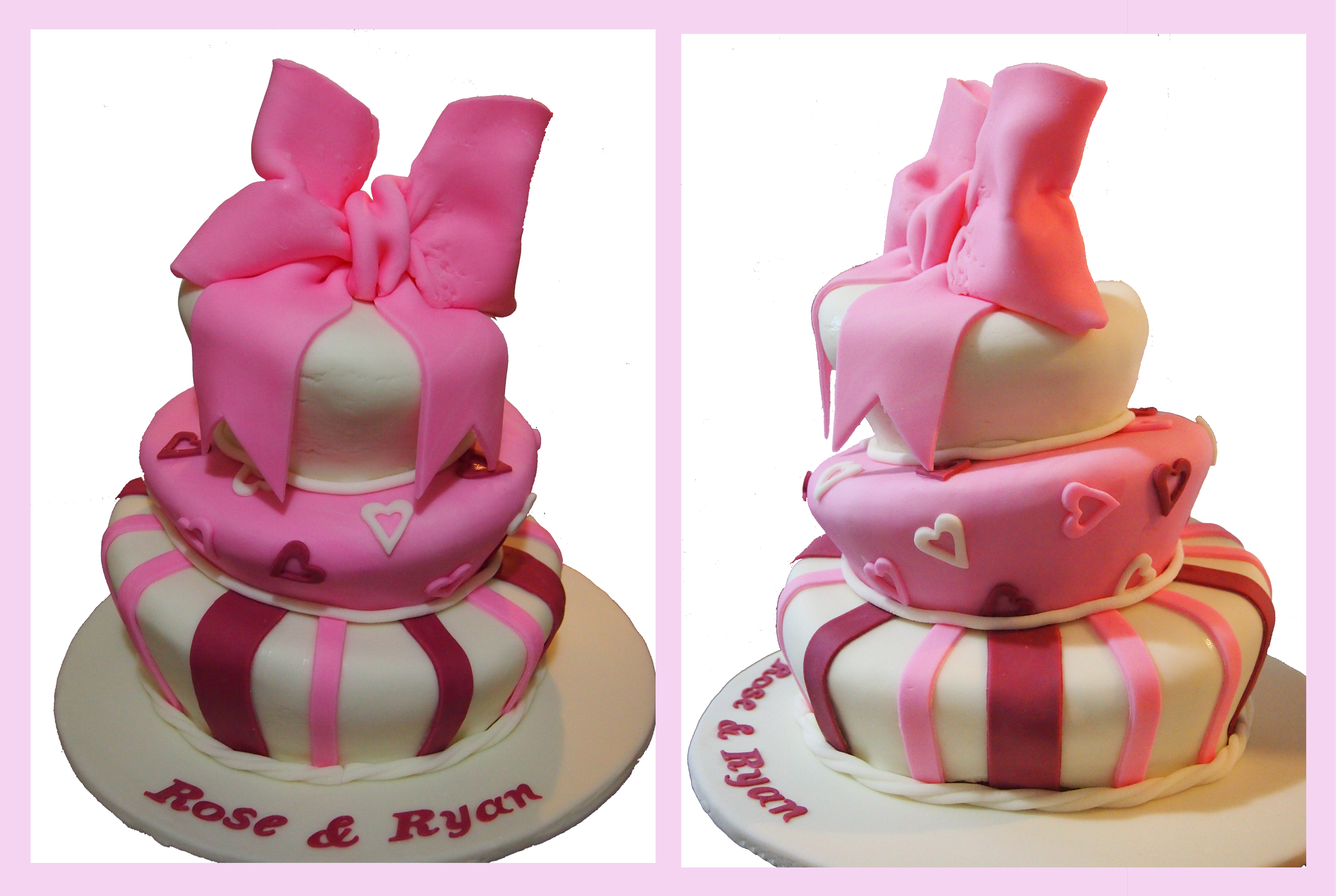 How To Cut A Topsy Turvy Cake To Serve