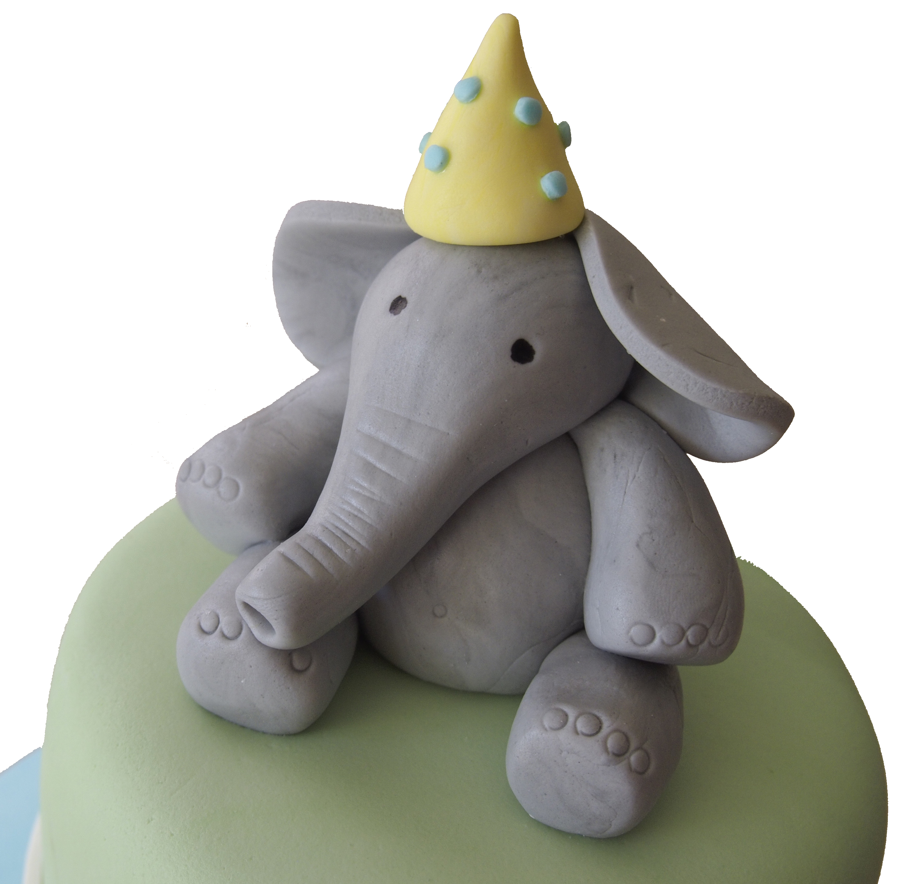 Elephant Shaped Birthday Cake