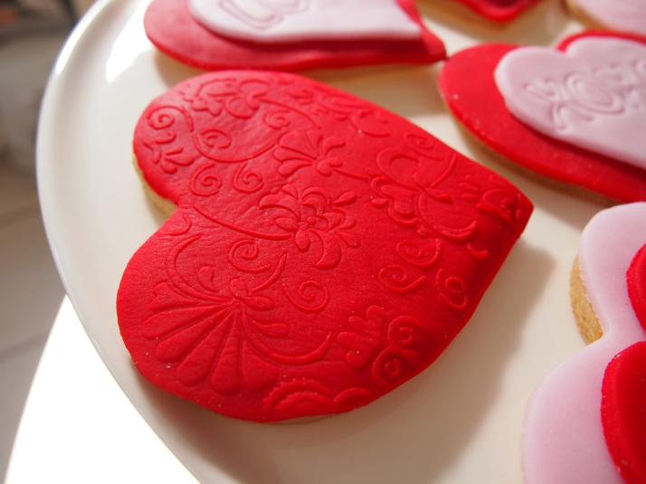 Embossed Heart Biscuit 2